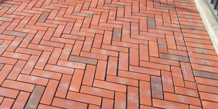 flooring bricks work